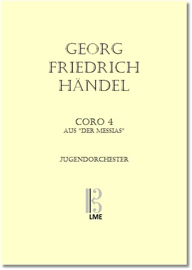 HÄNDEL, Der Messias, Coro Nr. 4, Jugendorchester